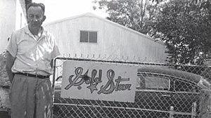 Gold Star Records - Bill Quinn in Houston, Texas, 1960s