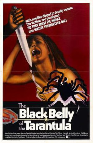 Black Belly of the Tarantula - Film poster