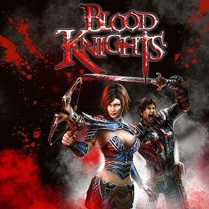 Blood Knights - Image: Blood Knights cover