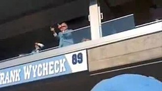 Bud Adams - Adams was fined $250,000 by the NFL for this act of displaying an obscene gesture at the Titans/Bills game on November 15, 2009.