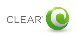 Clearwire - Logo used in the United States by Clearwire to market 4G wireless Internet services under the CLEAR brand