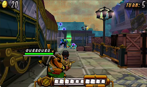 Code Name: S.T.E.A.M. - During a player's turn, characters are directly controlled in a third-person shooter style perspective.