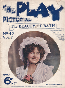 Cover of Play Pictorial, vol 7, no 45, 1906.png