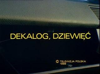 <i>Dekalog: Nine</i> 1988 Film directed by Krzysztof Kieślowski