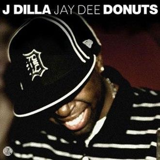 Donuts (album) - Image: Dilladonutscover