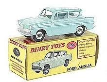 Spot On Tri-ang 213 Ford Anglia Repro Plastic Window Unit