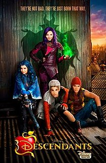 <i>Descendants</i> (2015 film) 2015 Disney Channel Original Movie directed by Kenny Ortega
