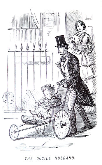 1847 stroller from the John Leech Archives