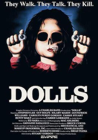 Dolls (1987 film) - Theatrical release poster