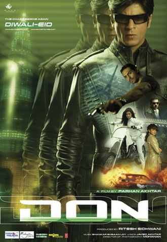 Don (2006 Hindi film) - Theatrical release poster