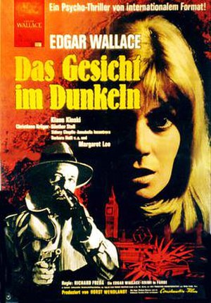 Double Face - German theatrical poster to Double Face (1969)
