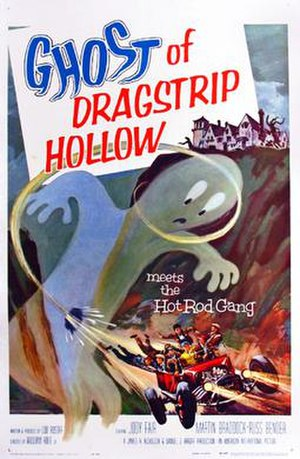Ghost of Dragstrip Hollow - Film poster