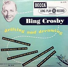 Drifting and Dreaming (Bing Crosby album) (album cover).jpg