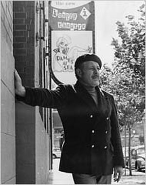 Hungry i - Banducci outside the club in 1969