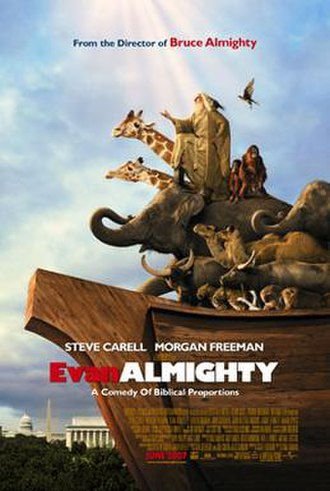 Evan Almighty - Theatrical release poster