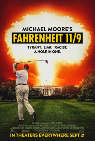 Fahrenheit 11/9 - Theatrical release poster