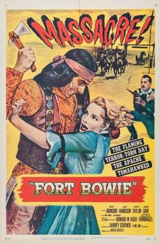 Fort Bowie (film) - Theatrical release poster