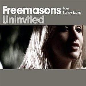 Uninvited (song) - Image: Freemasons Uninvited cover