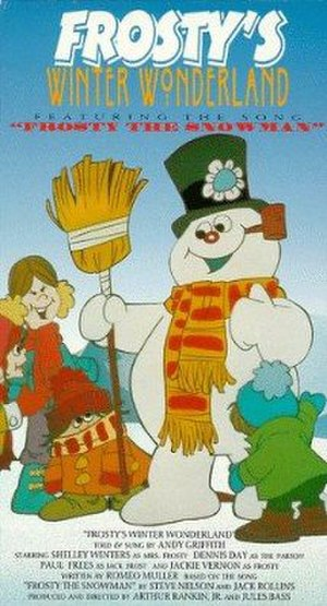 Frosty's Winter Wonderland - Cover of the 1992 VHS release by Warner Home Video.