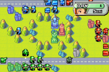 Screenshot of Advance Wars