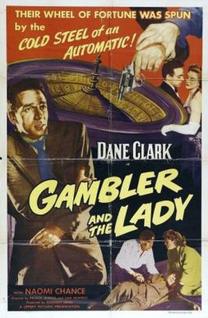 The Gambler and the Lady - Theatrical release poster