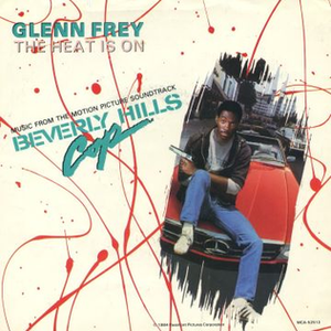 The Heat Is On (Glenn Frey song) - Image: Glenn Frey 'The Heat is On' single cover