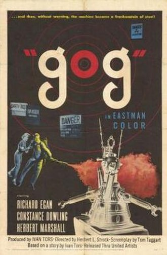 Gog (film) - Theatrical release poster