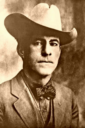 Harry C. Wheeler - Harry C. Wheeler as captain of the Arizona Rangers.