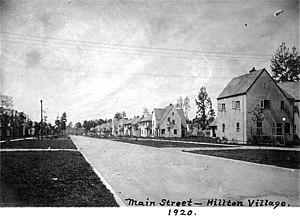 History of Newport News, Virginia - Hilton Village