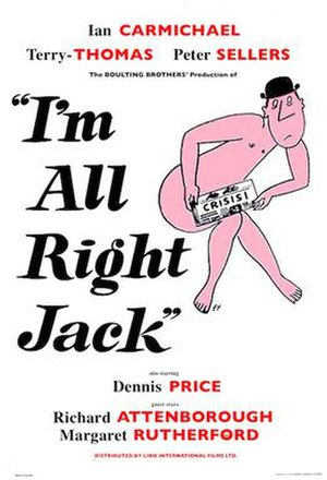 I'm All Right Jack - Image: I'm All Right Jack UK poster