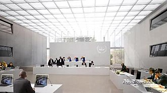 International Criminal Court - Typical courtroom