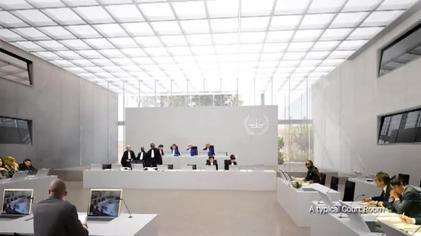 ICC permanent premises courtroom