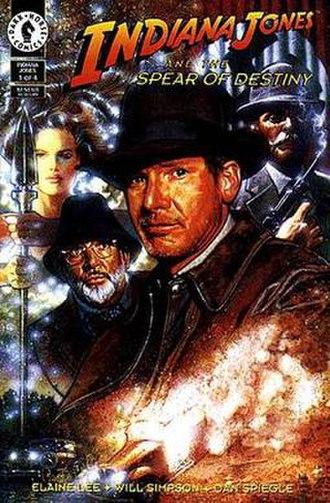 Indiana Jones and the Spear of Destiny - Image: I Jand Spearof Destiny