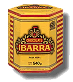 Ibarra (chocolate) - Ibarra table chocolate