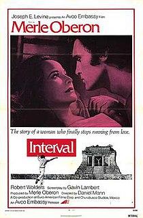 <i>Interval</i> (film) 1973 film by Daniel Mann