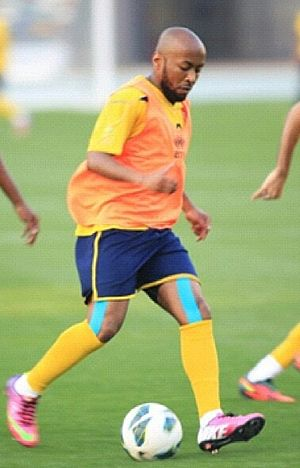 Ismail Matar - Matar in UAE training in 2014
