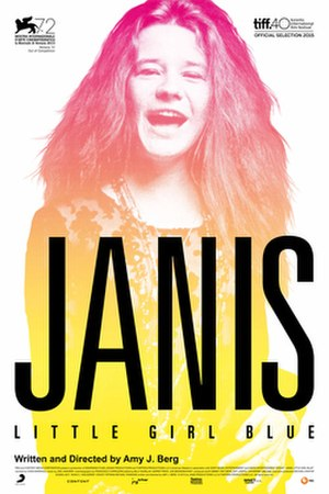 Janis: Little Girl Blue - Theatrical release poster