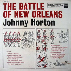 The Battle of New Orleans - Image: Johnny Horton New Orleans single