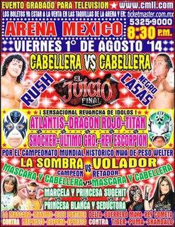 <i>Juicio Final</i> (2014) Mexican professional wrestling supercard show