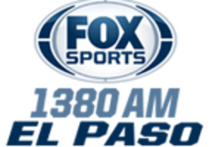 KHEY (AM) - Image: KHEY Fox Sports El Paso logo