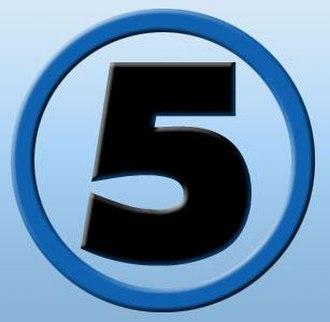 Kanal 5 (North Macedonia) - Image: Kanal 5 mk logo