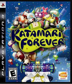 US box art for Katamari Forever