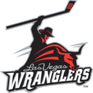 Las Vegas Wranglers - Primary logo from 2003–10, Alternate logo from 2010-12
