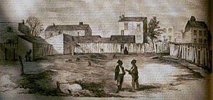 Teresa Bagioli Sickles - Frank Leslie's Illustrated engraving of 15th Street assignation house