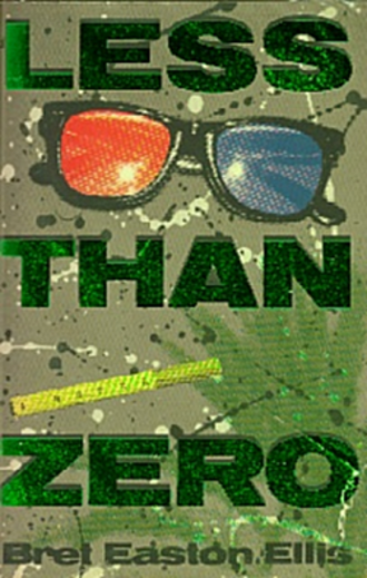 Less Than Zero (novel) - American 1st Edition Cover