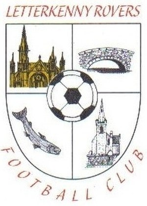 Letterkenny Rovers F.C. - Image: Letterkenny Rovers Crest