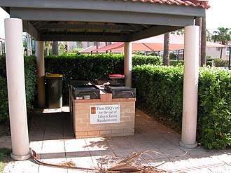 Liberty Grove, New South Wales - Image: Liberty Grove BBQ