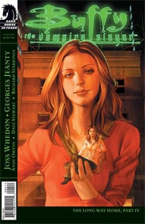 Dawn Summers - In the comic book Buffy Season Eight, Dawn goes through a series of bizarre physical changes.