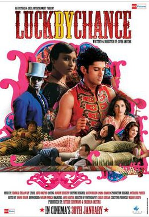 Luck by Chance - Theatrical release poster