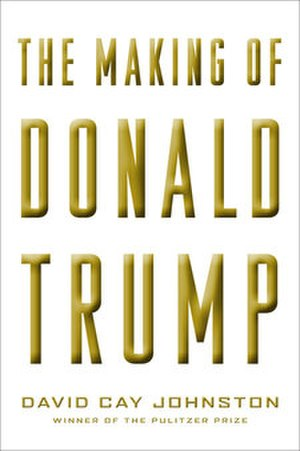 The Making of Donald Trump - The cover of the hardback first edition